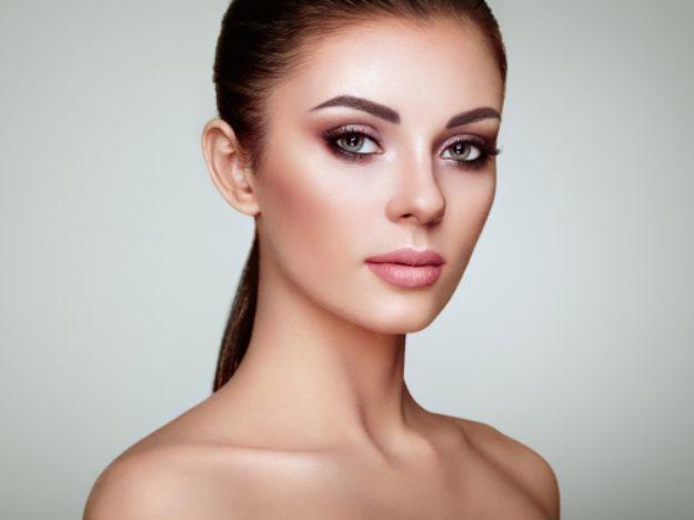 A young beautiful woman